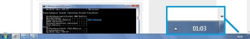 Hinter dieser Schaltfläche verbirgt sich in Windows 7 die Funktion Desktop anzeigen