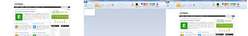 Per Tastenkombination zum Screenshot. Erst anfertigen, dann einfügen.